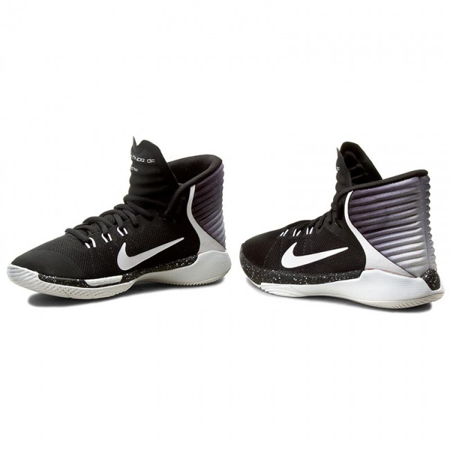 newest 9fef7 bf459 Shoes NIKE - Prime Hype Df 2016 (GS) 845096 001 Black/White