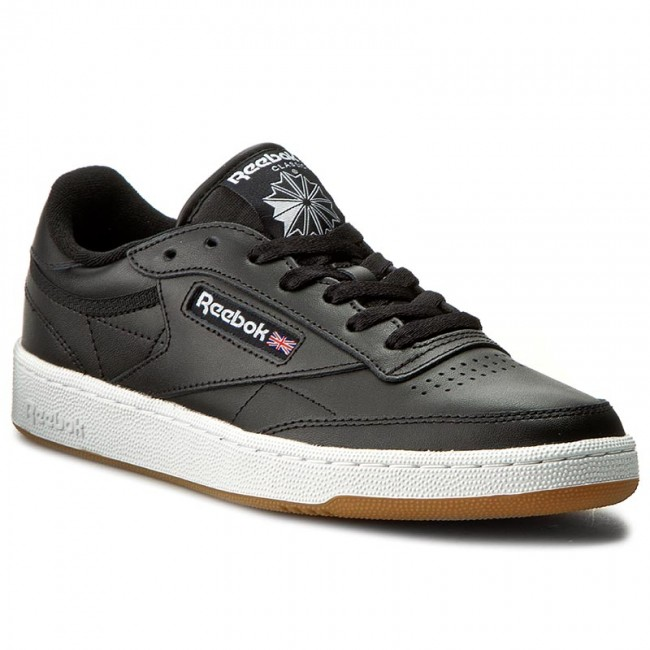 Reebok Club C 85 El Cheap Mens Shoes WhiteBlack