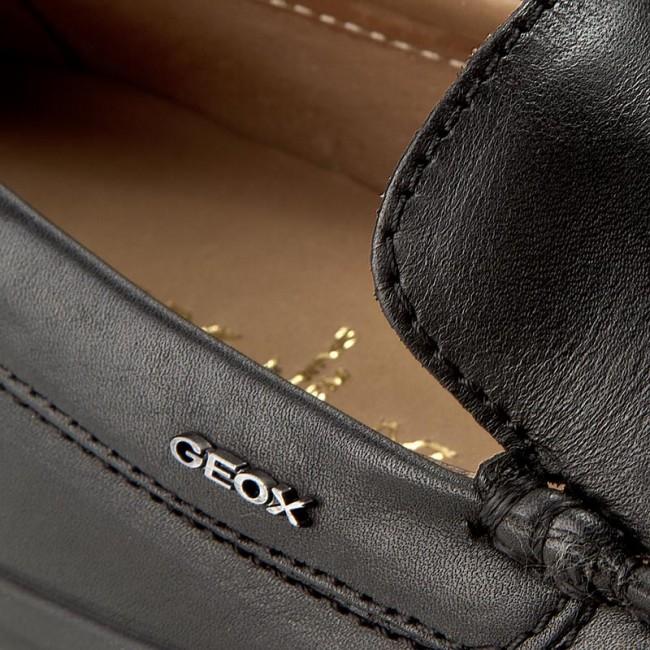 Moccasins GEOX U Xense Mox A U42D3A 00043 C9999 Black