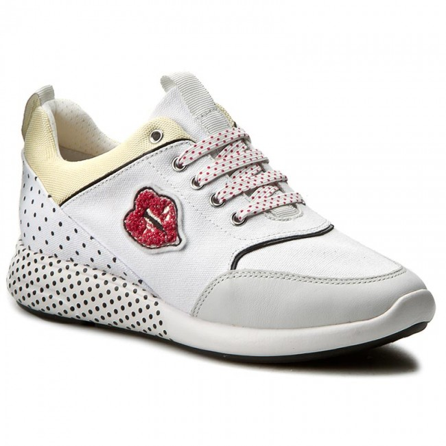 Sneakers GEOX D Ophira C D621CC 0AW85 C1000 White