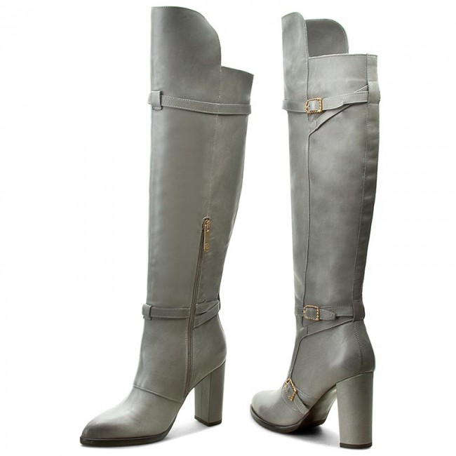 Tommy Hilfiger Gigi Hadid Nautical Over The Knee Heeled Boots