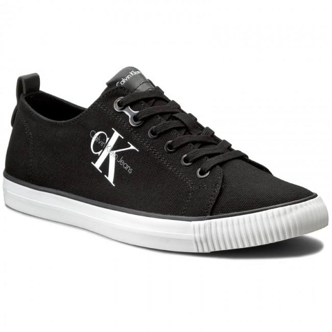 b98f5cc66 Plimsolls CALVIN KLEIN JEANS - Arnold S0369 Black - Sneakers - Low shoes -  Men's shoes - efootwear.eu