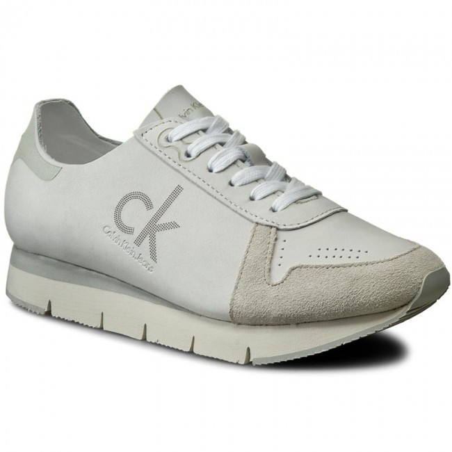 Grey Shoes Men Calvin Klein
