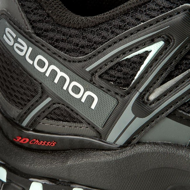 Shoes SALOMON Xa Pro 3D W 393269 22 V0 BlackMagnetFair Aqua
