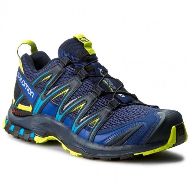Shoes Salomon Xa Pro 3d 392518 28 W0 Blue Depths Navy Blazer Lime Punch Outdoor Running Shoes Sports Shoes Men S Shoes Efootwear Eu