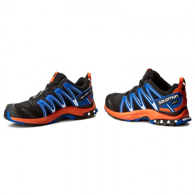 Salomon Xa Pro 3D Gtx Blue Orange Resistant to water