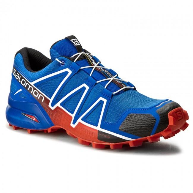 Shoes SALOMON Speedcross 4 383132 28 V0 Blue YonderBlackLava Orange