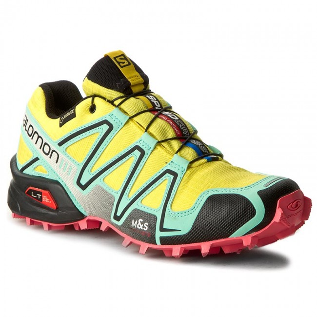 Shoes SALOMON Speedcross 3 Gtx W 379063 23 G0 Citrus XBubble BlueMadder Pink