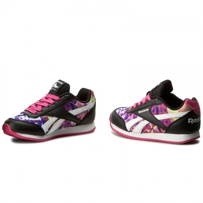 shoes reebok royal cljog 2gr bd4027 black pink white