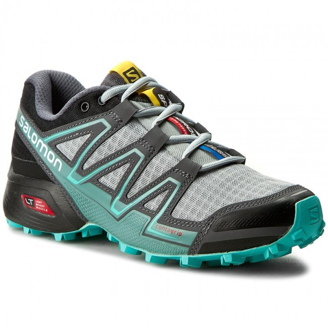 Shoes SALOMON Speedcross Vario W 383107 20 W0 Light OnixBlackBubble Blue