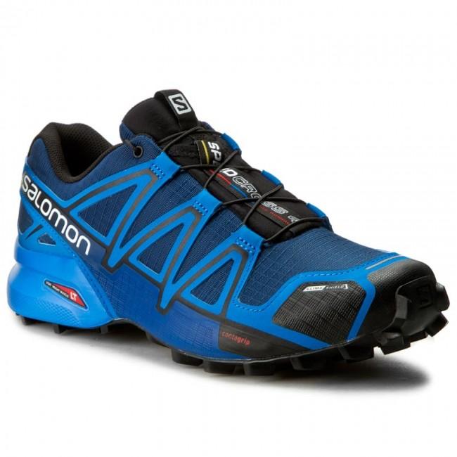 Leer Tóxico milicia  Shoes SALOMON - Speedcross 4 Cs 383126 27 V0 Blue Depth/Bright Blue/Black -  Outdoor - Running shoes - Sports shoes - Men's shoes | efootwear.eu
