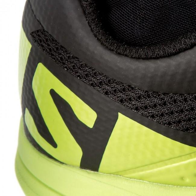salomon xa enduro womens trail running shoes jeans yellow
