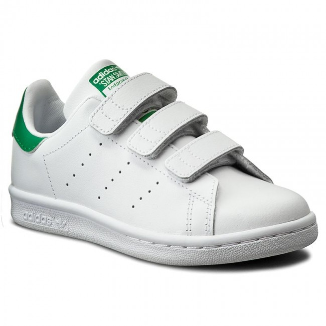 purchase cheap d9a85 118b5 Shoes adidas - Stan Smith Cf C M20607 Ftwwht/Ftwwht/Green
