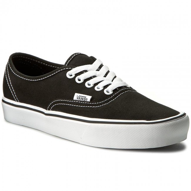 Vans Authentic Lite Canvas BlackWhite Shoes