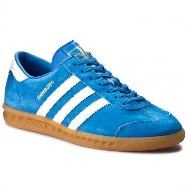 taille 40 abfc9 bf4ba Shoes adidas - Hamburg S76697 Blubir/Ftwwht/Gum