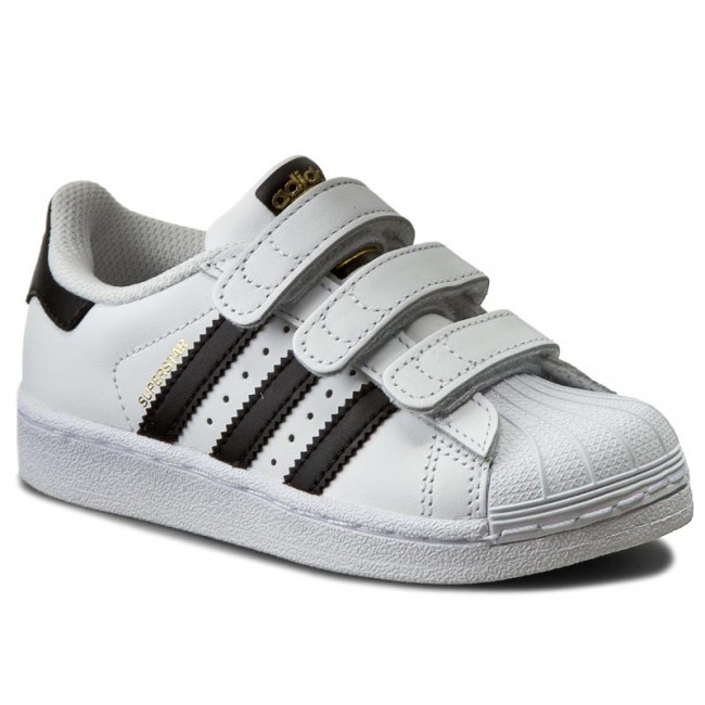 alimentar manual Mareo  Shoes adidas - Superstar Foundation CF C B26070 Ftwwht/Cblack/Ftwwht -  Velcro - Low shoes - Girl - Kids' shoes | efootwear.eu