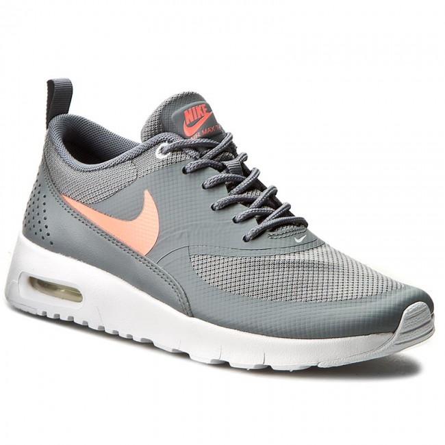 Shoes NIKE Air Max Thea (GS) 814444 007 Cool GreyLava Glow