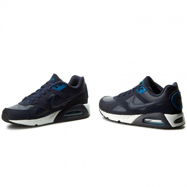 Shoes NIKE Air Max Ivo ltr 580520 444 ObsidianObsidianBrigde Blue