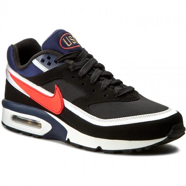 Shoes NIKE Air Max Bw Premium 819523 064 BlackCrimsonMidnightNavy