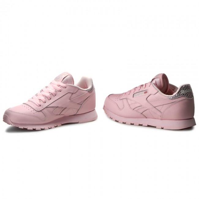 Shoes Reebok Classic Leather Metallic BD5898 Luster PinkSilver Met