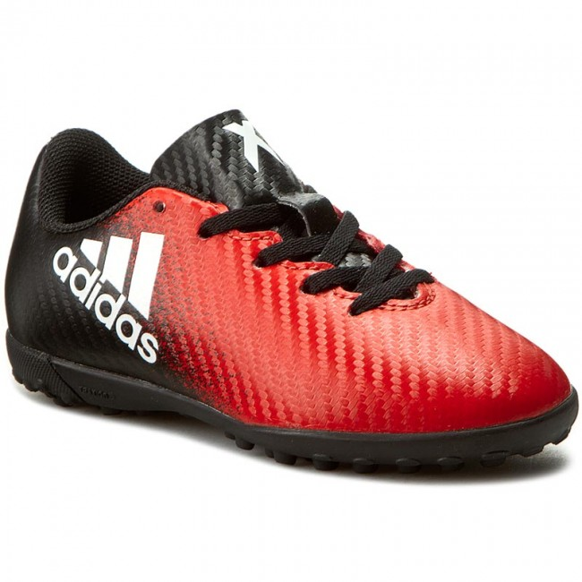 Arrestar Bendecir diámetro  Shoes adidas - X 16.4 Tf J BB5724 Red/Ftwwht/Cblack - Laced shoes - Low  shoes - Boy - Kids' shoes | efootwear.eu