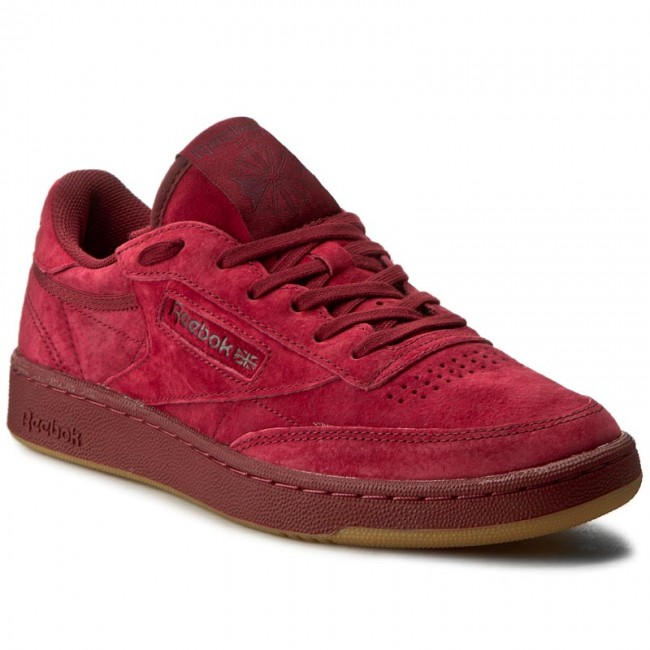 Shoes Reebok Club C 85 Tg BD1884 Cllgt BurgundyDark Red