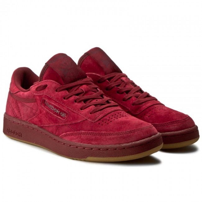 shoes reebok club c 85 tg bd1884 cllgt burgundy dark red. Black Bedroom Furniture Sets. Home Design Ideas