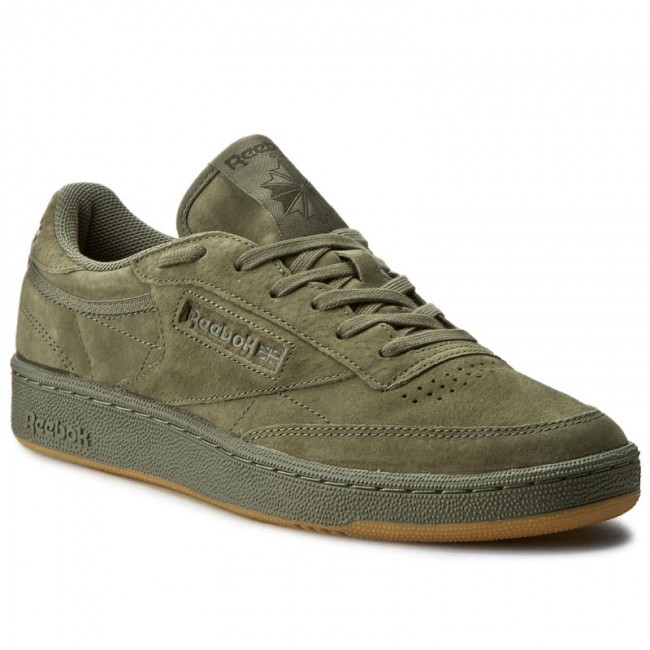 shoes reebok club c 85 tg bd4759 hunter green poplar. Black Bedroom Furniture Sets. Home Design Ideas