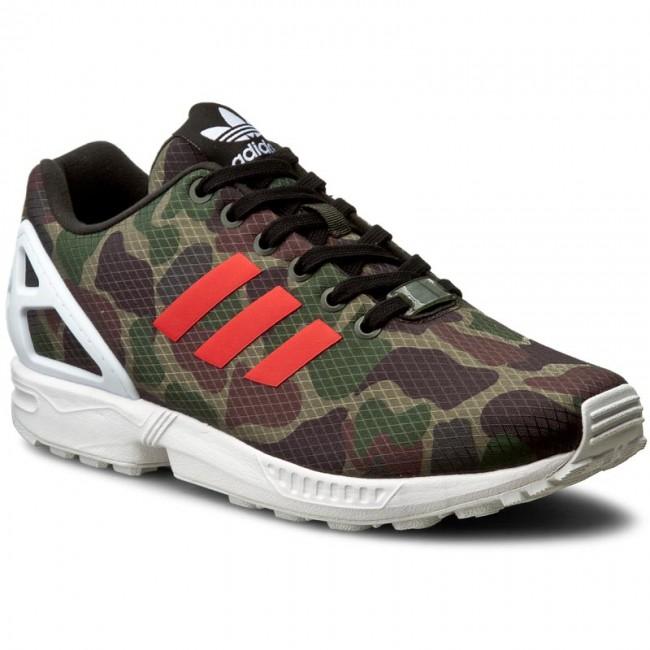 Adidas ZX Flux Shoes Men's Originals BB2176 Fit Well