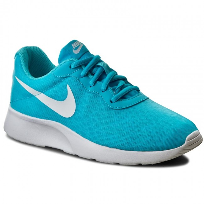 Shoes NIKE - Wmns Nike Tanjun Br 833677 410 Gamma Blue/White