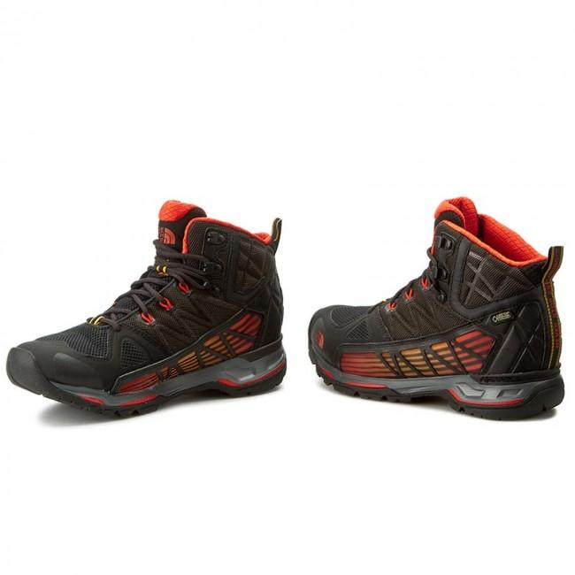 sale retailer a13d6 87555 Trekker Boots THE NORTH FACE - Ultra Gtx Surround Mid GORE-TEX T0A2T63NNA  Tnf Black/Poinciana Orange