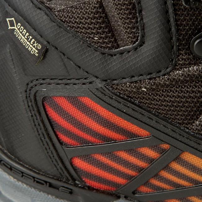 a52d6ebe7 Trekker Boots THE NORTH FACE - Ultra Gtx Surround Mid GORE-TEX T0A2T63NNA  Tnf Black/Poinciana Orange