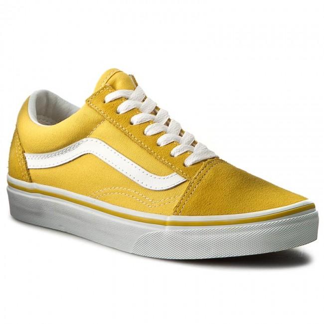 Vans Suede Old Skool Sneaker | Vans suede, Yellow vans