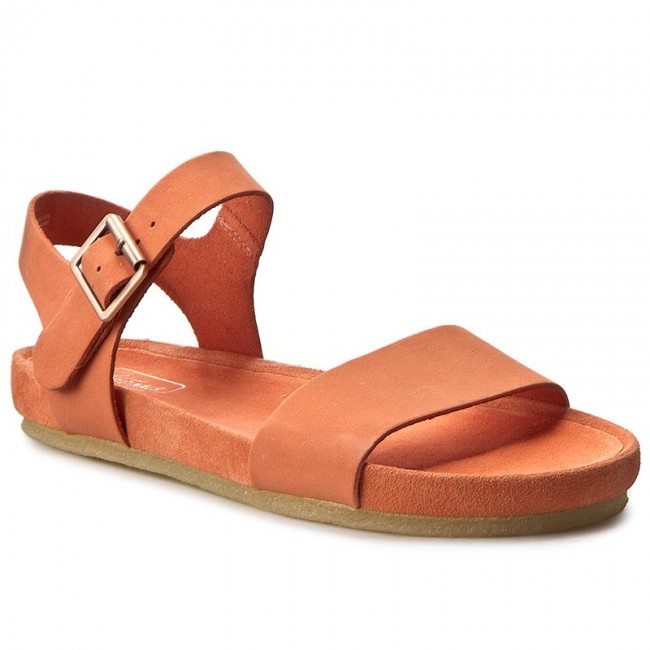 Sandals CLARKS Dusty Soul 261227354 Light Coral