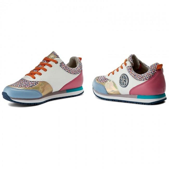 Sneakers GUESS - Reeta FLRET1 LEM12
