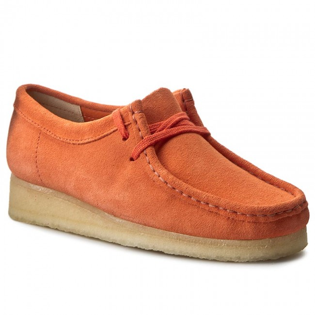 Shoes CLARKS Wallabee 261227434 Light Coral