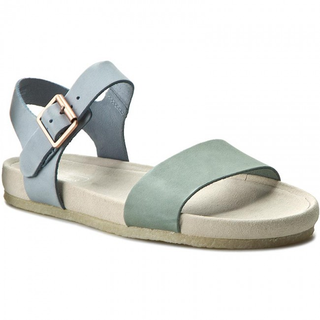 Sandals CLARKS Dusty Soul 261233564 Pastel Blue