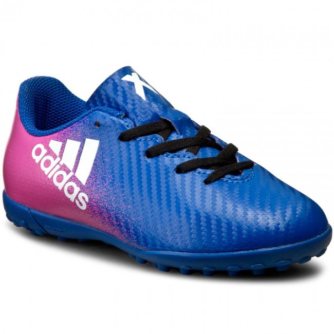 Atlas hablar Exactitud  Shoes adidas - X 16.4 Tf J BB5725 Blue/Ftwwht/Shopin - Laced shoes - Low  shoes - Boy - Kids' shoes | efootwear.eu