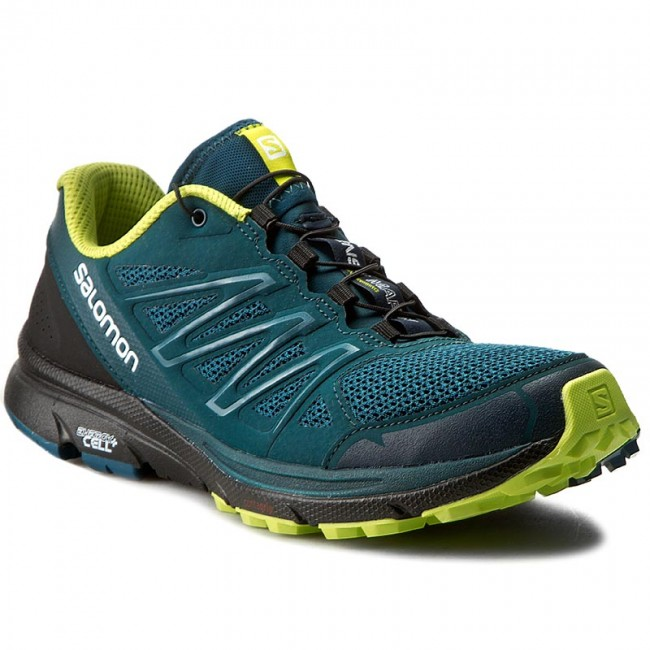 Shoes SALOMON Sense Marin 392037 27 W0 Reflecting PondBlackLime Punch