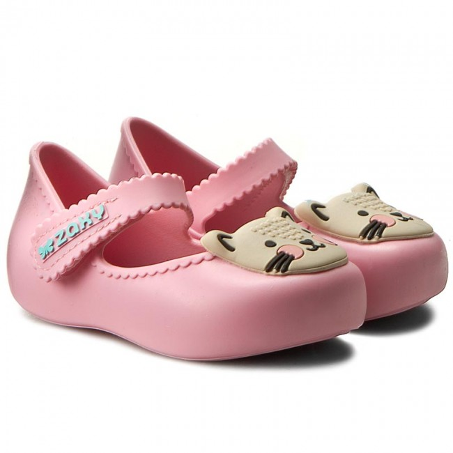 Shoes Zaxy Pets Baby Pink Velcro