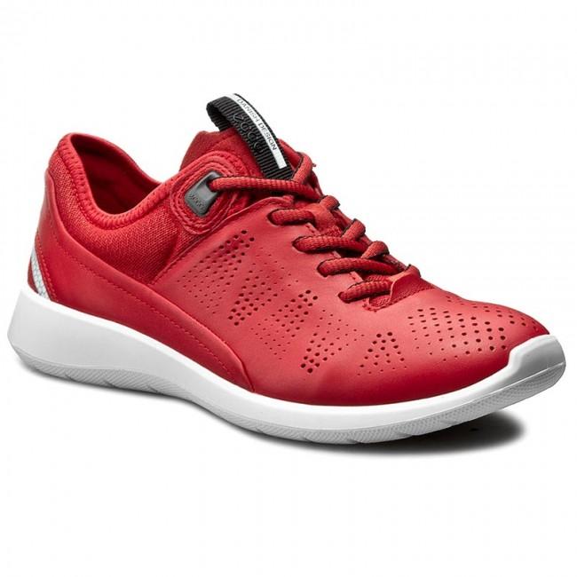 Shoes ECCO Soft 5 28306350354 TomatoTomatoConcrete