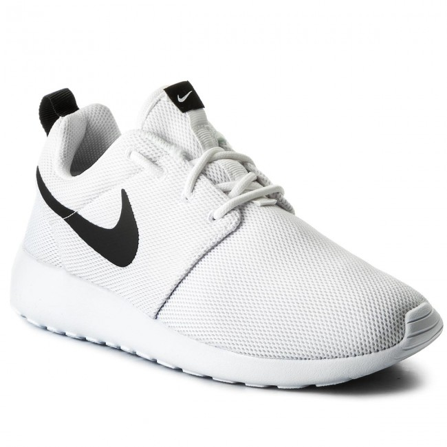quality design e304e e1795 Shoes NIKE - Roshe One 844994 101 White/White/Black
