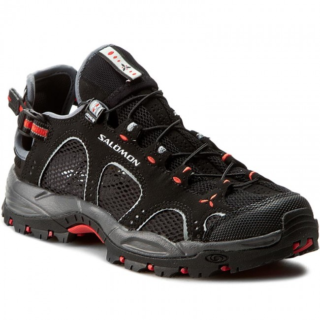 Trekker Boots SALOMON Techamphibian 3 W 128490 20 M0 BlackDark CloudPapaya