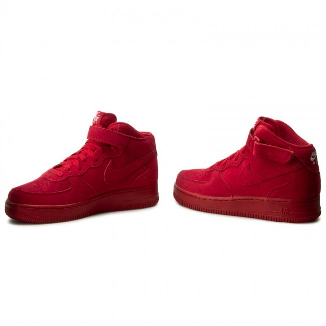 Shoes NIKE Air Force 1 Mid '07 315123 609 Gym RedGym RedWhite