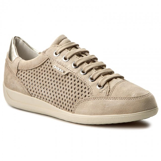 Sneakers GEOX D Myria B D6268B 07722 C6738 Lt Taupe