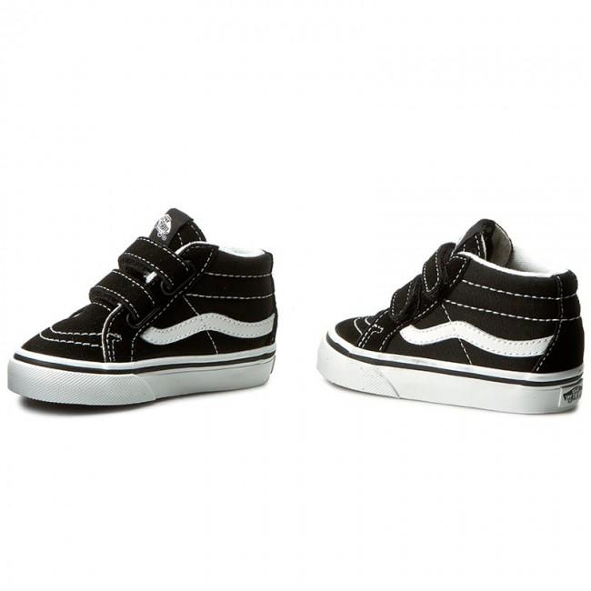 Sneakers VANS Sk8 Mid Reissue V VN00018W6BT BlackTrue White