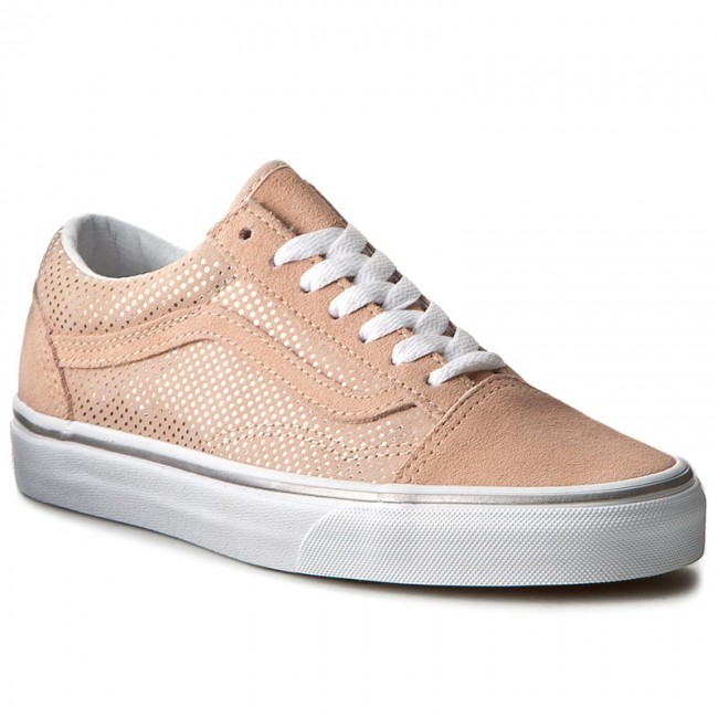 Vans Old Skool Platform Metallic Rose Gold | HYPEBAE
