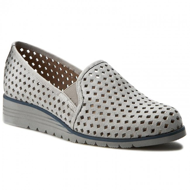 shoes mex 7791 11w grey flats low shoes