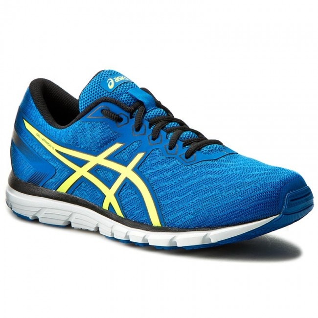 Shoes ASICS Gel Zaraca 5 T6G3N Electric BlueSafety YellowBlack 4207