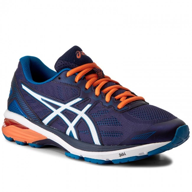 Shoes ASICS Gt 1000 5 T6A3N Indigo BlueSnowHot Orange 4900